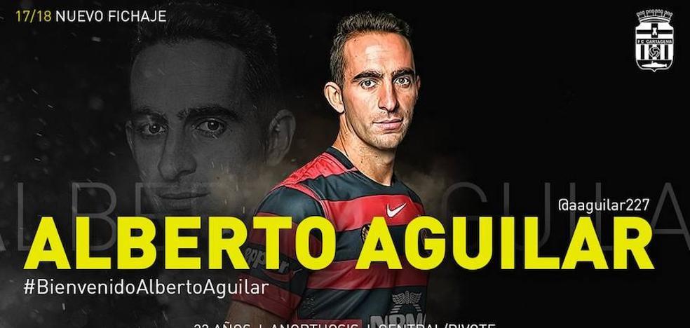 Alberto Aguilar se suma al proyecto del Cartagena