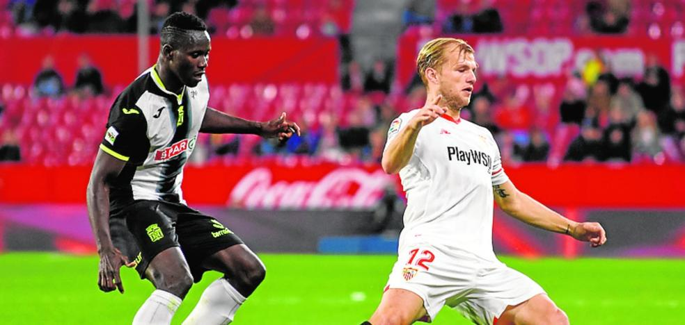 Moussa Camara: «Necesitaba olvidar pronto el gol que fallé en Sevilla»