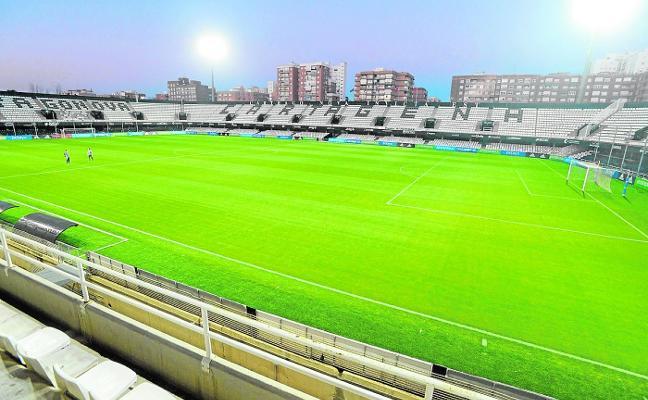 El Cartagena se entrenará dos veces por semana en el estadio
