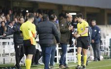 Tres partidos de castigo para Monteagudo y retirada la amarilla de Chavero