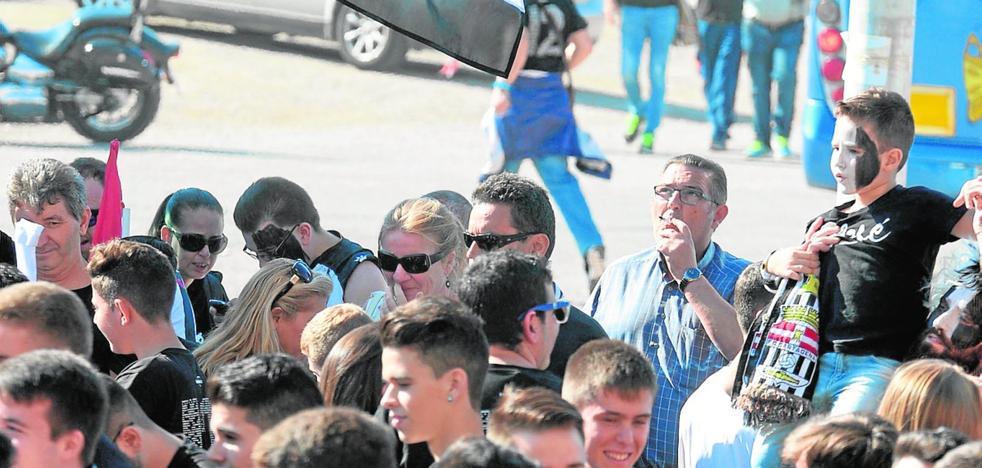 La afición no va de feria a Sevilla
