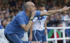 Alberto Monteagudo valora positivamente el resultado, a pesar del gol encajado