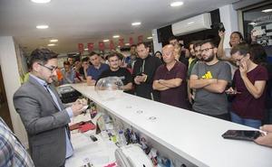 Las entradas sorteadas por el Cartagena ya tienen dueños