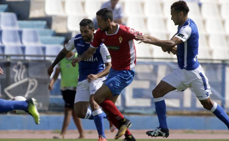 Un Murcia gris pesca un punto en Melilla (0-0)