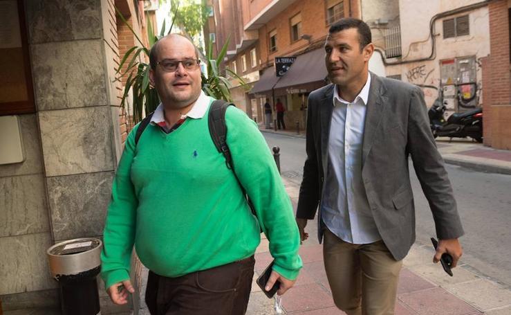 Los directivos de Real Murcia y Barcelona comen juntos antes del partido