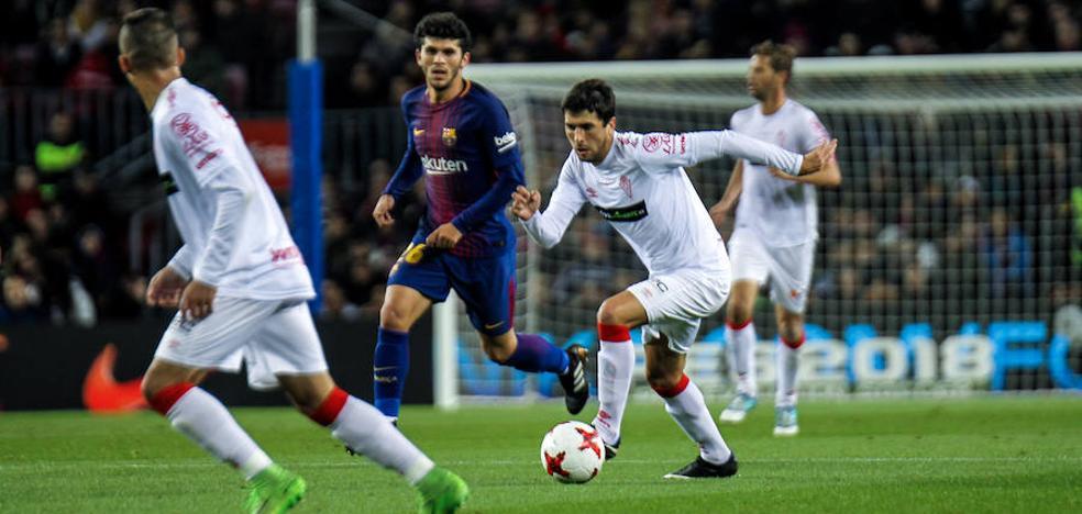 El Murcia resiste una hora a un Barça voraz