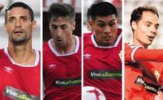 El Murcia confirma las salidas de Chamorro, Llorente, Fede Vega y Álex Ortiz