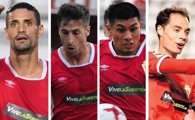 El Murcia prepara la salida de Chamorro, Llorente, Fede Vega y Álex Ortiz