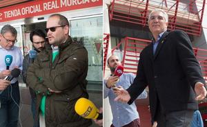 Guerra inoportuna en un Real Murcia en llamas