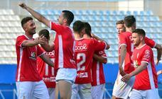 Golpe de autoestima para el Murcia en un derbi descafeinado
