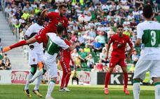 El Real Murcia dice adiós al 'playoff' tras caer en Elche (3-2)