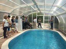 Aidemar recupera su piscina terapéutica tras cuatro años cerrada