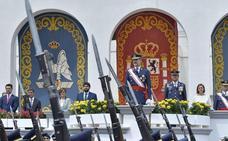 El Rey preside la entrega de Despachos a 96 alumnos de la AGA