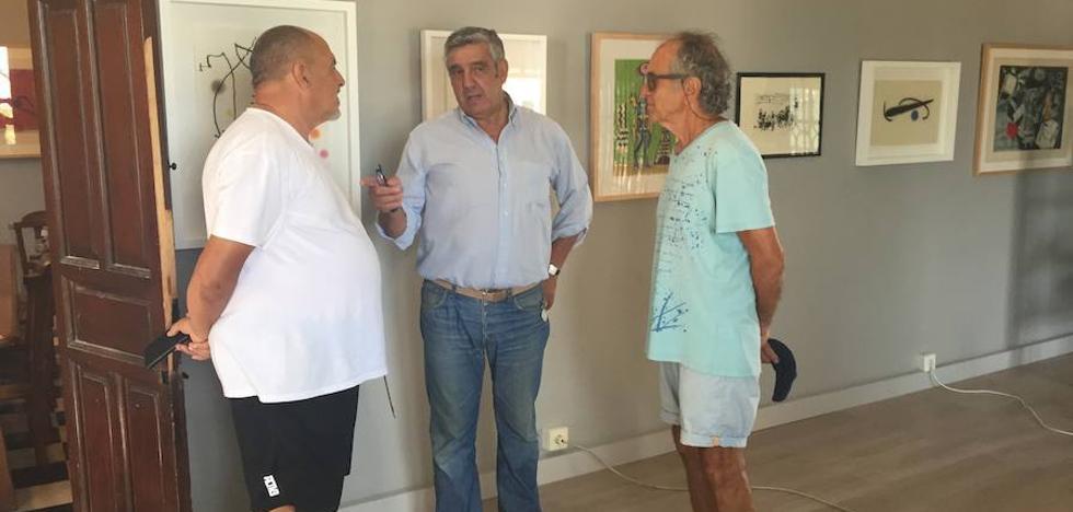 Círculo Vélico reúne en Barnuevo obras gráficas de Picasso, Dalí y Miró