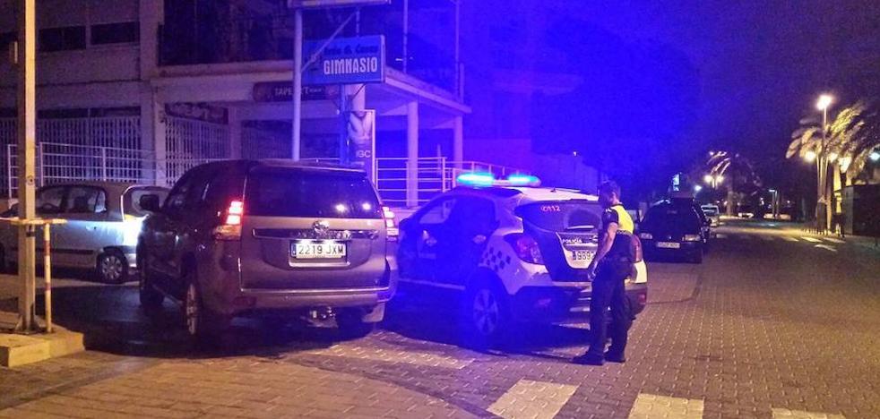 Recuperan un coche robado en Santiago de la Ribera tras una peligrosa persecución