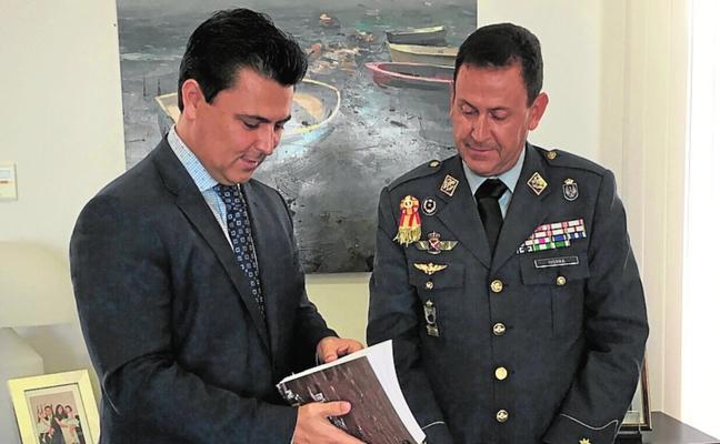 Luengo recibe al director de la AGA