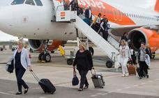 El aeropuerto de San Javier registró en los últimos 10 meses más de un millón de pasajeros