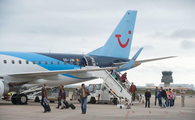 El Aeropuerto de San Javier registra más de 1.150.000 pasajeros entre enero y noviembre