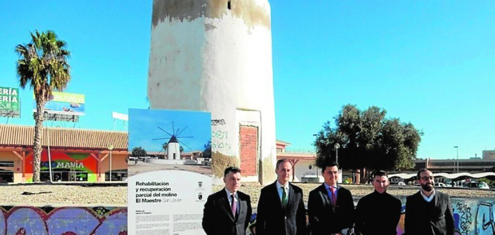 El molino 'El Maestre' recuperará su aspecto original de hace un siglo