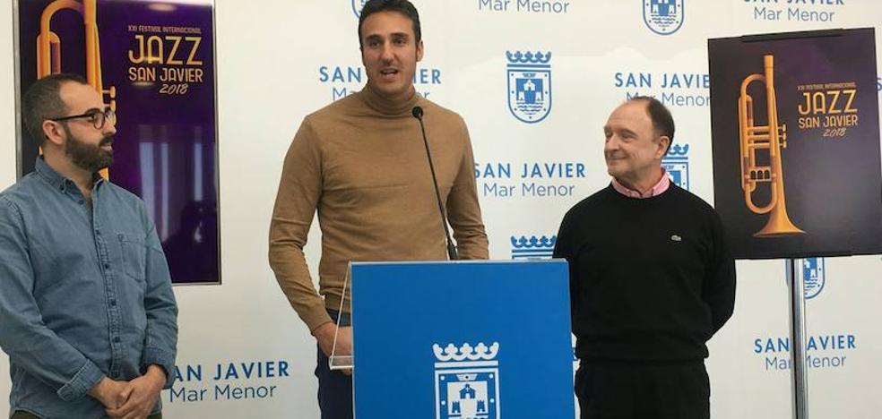 El murciano Rubén Lucas gana el concurso del cartel de Jazz San Javier