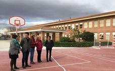 Nuevas pistas deportivas en el colegio Severo Ochoa