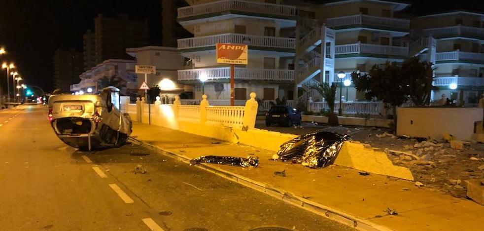 Muere decapitado un conductor tras sufrir un accidente de tráfico en La Manga