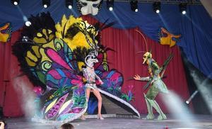 El Carnaval de La Ribera corona a Judith Pardo, de la comparsa Río