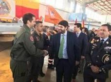 La Comunidad inicia los trámites para otorgar a la Academia General del Aire la Corbata de Honor