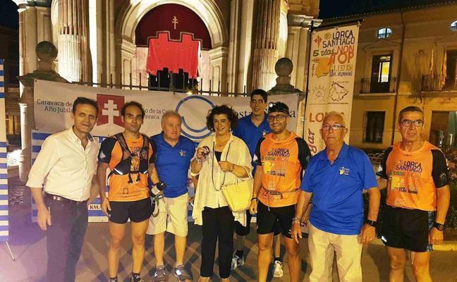 La carrera Non stop Lorca-Santiago promociona el Año Jubilar