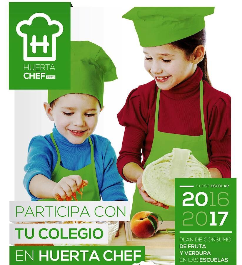 Caravaca celebra ma ana el concurso de cocina huerta chef con escolares de toda la regi n soy - Carteles de cocina ...