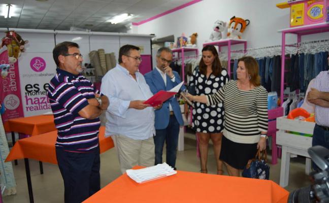 Proyecto Abraham reinaugura su tienda en Caravaca