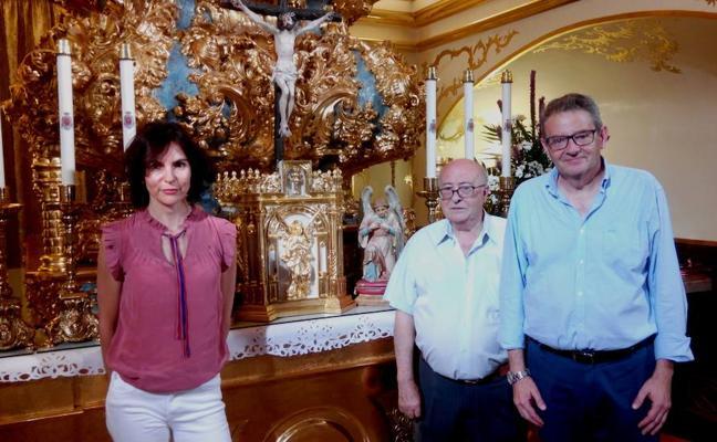 Un nuevo sagrario para el expositor barroco de la basílica de la Vera Cruz