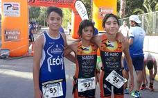 Pablo León, segundo en el acuatlón de Alguazas