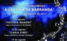 Los sonidos del jazz y la bossa nova abren este sábado el ciclo de conciertos 'A la luna de Barranda'