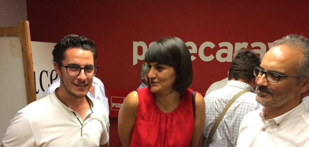 Veracruz inicia su campaña en Caravaca para preparar al PSOE y lograr el cambio en 2019