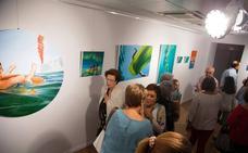 La exposición 'Underwater', de Eva Mauricio, en el Museo Carrilero hasta el 27 de octubre
