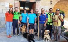 La Asociación de Usuarios de Perros Guía de la Comunidad Valenciana peregrina a Caravaca de la Cruz