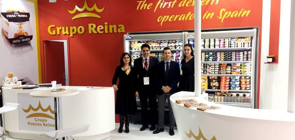 El Grupo Postres Reina, presenta sus productos en la Feria Anuga de Colonia