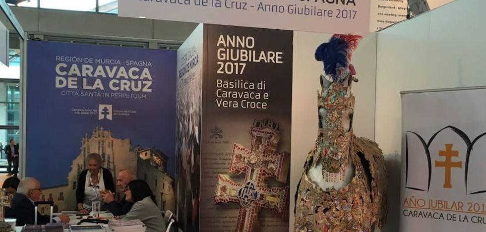 La Región refuerza su posición preferente para el turismo religioso italiano en la Feria de Rímini