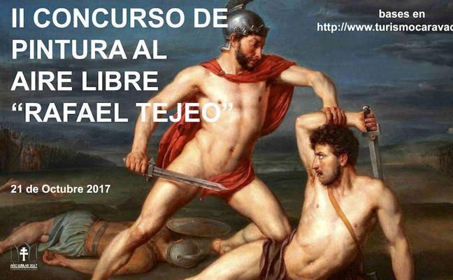 La Concejalía de Cultura del Ayuntamiento de Caravaca celebra este sábado el concurso de pintura al aire libre 'Rafael Tejeo'