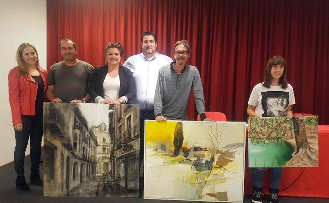 Francisco Caniles se alza con el primer premio del concurso de pintura al aire libre 'Rafael Tejeo'