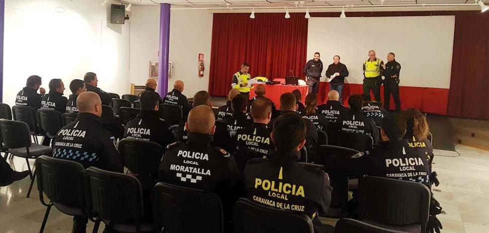 La Policía Local de Caravaca forma a sus agentes en la detección de drogas durante la conducción