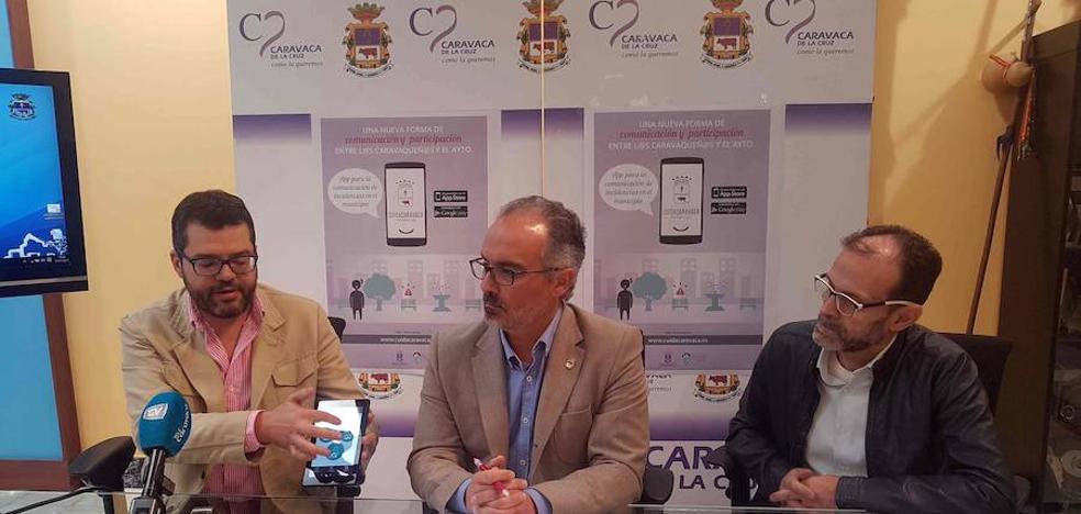 El Ayuntamiento presenta la aplicación móvil 'Cuida Caravaca' para la comunicación y gestión de incidencias