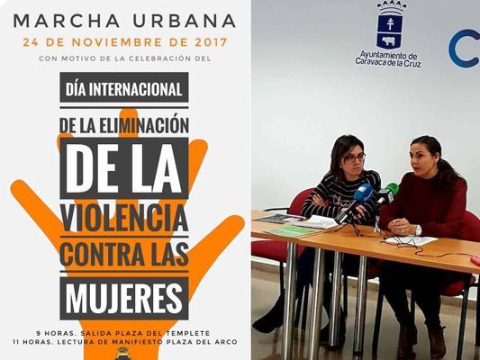 Caravaca se suma al 'Día de la Eliminación de la Violencia contra las Mujeres' con actividades educativas y de concienciación social