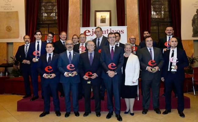 Caravaca recibe uno de los premios 'Ejecutivos de la Región de Murcia'