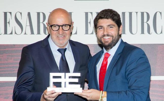 Alfonso López Rueda, de Postres Reina, mejor empresario de la región de Murcia