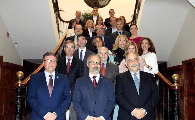 El colegio de Abogados de Murcia celebra su Junta de Gobierno en Caravaca de la Cruz