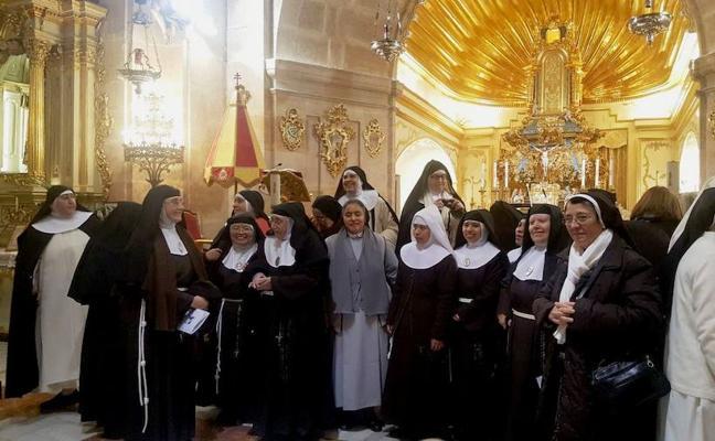 Monjas de clausura de toda la diócesis ganan el Jubileo