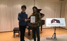 El pianista caravaqueño Arturo Abellán Sánchez, premiado en el Concurso Nacional Intercentros-Melómano