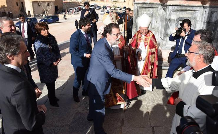 Lorca Planes pide en Caravaca al presidente preservar la unidad de España